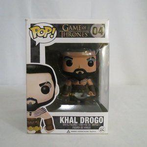 Funko Pop Game Of Thrones Khal Drogo EditionOneNew